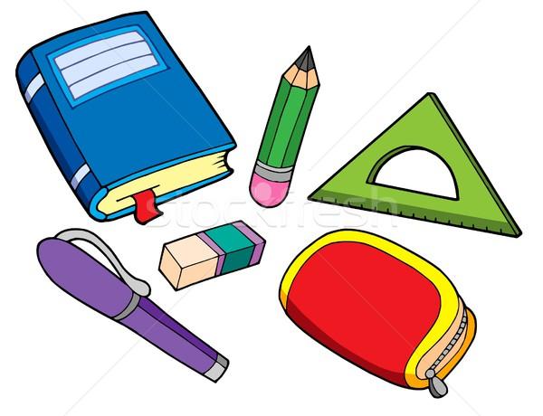 Stock photo: Various school properties