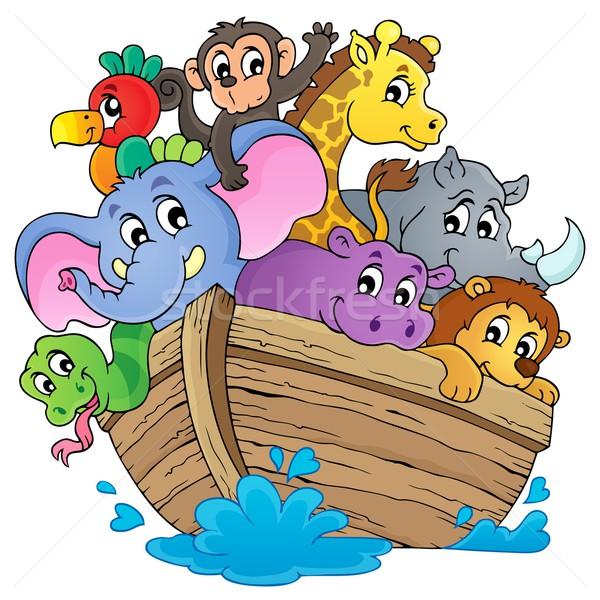 Noahs ark theme image 1 Stock photo © clairev
