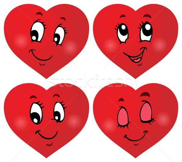 Valentine hearts thematic set 3 Stock photo © clairev