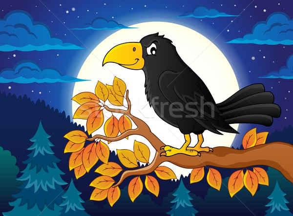 Crow theme image 3 Stock photo © clairev