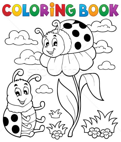 Boyama Kitabı Uğur Böceği Bahar Kitap Boya Sanat