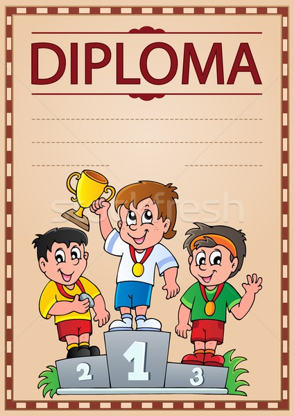Diploma topic image 2 Stock photo © clairev