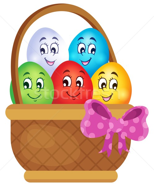 Easter eggs thematic image 5 Stock photo © clairev