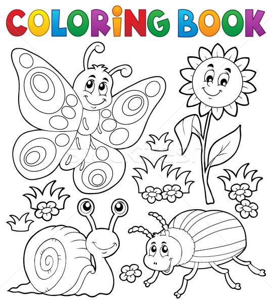 Boyama Kitabı Küçük Hayvanlar Bahar Kitap Kelebek