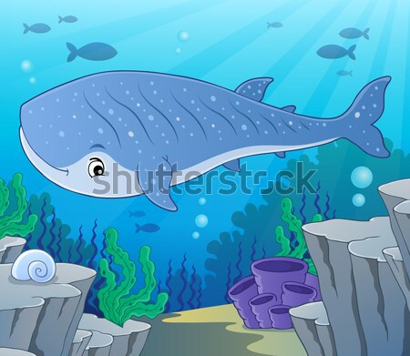 Pirate shark topic image 6 Stock photo © clairev