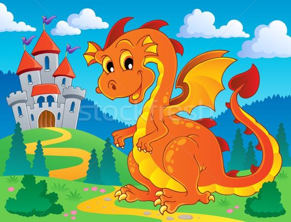 Dragon theme image 9 Stock photo © clairev