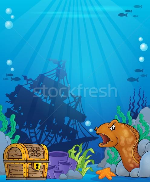 Ocean underwater theme background 6 Stock photo © clairev