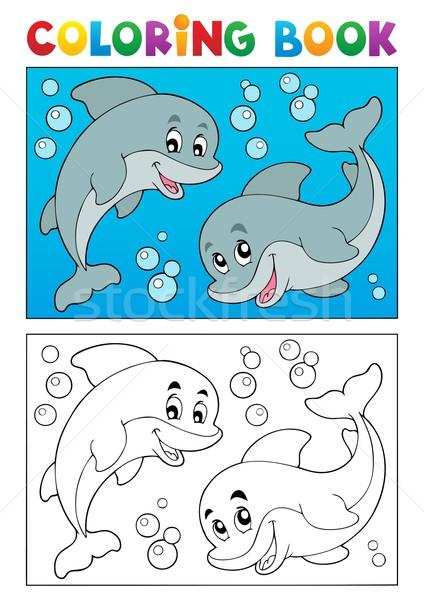 商业照片: 图画书 · 海洋 · 动物 ·书·海· 设计