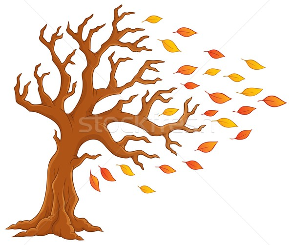 Как рисовать дерева осенью