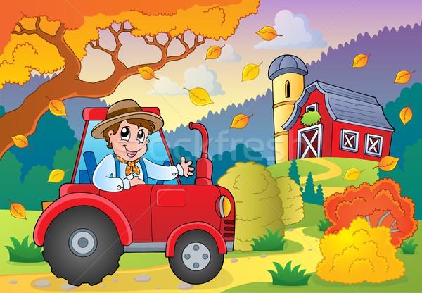 Autumn farm theme 5 Stock photo © clairev