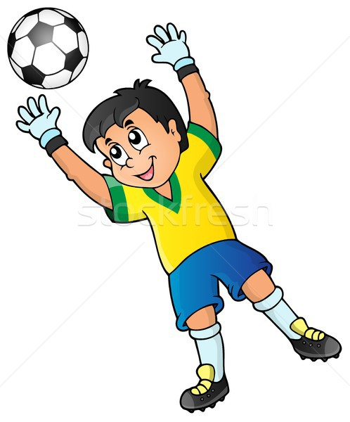 Soccer theme image 2 Stock photo © clairev