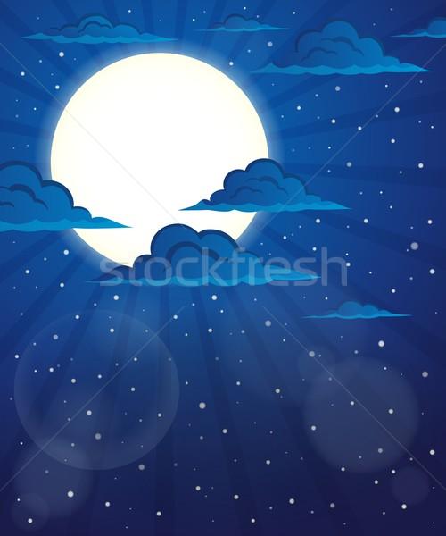 Night sky theme image 5 Stock photo © clairev
