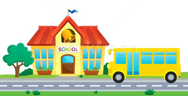 School and bus theme image 1 Stock photo © clairev