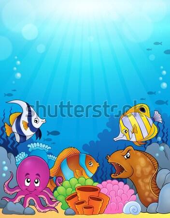 Pirate turtle theme image 3 Stock photo © clairev