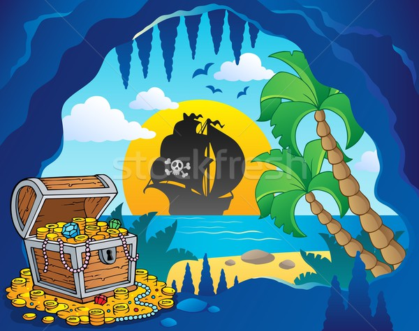 Pirate cove theme image 1 Stock photo © clairev