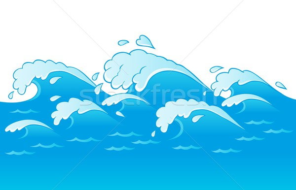 Waves theme image 3 Stock photo © clairev