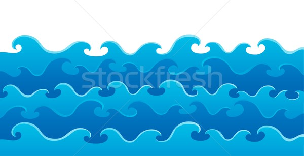 Waves theme image 5 Stock photo © clairev