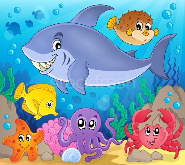 Image with shark theme 7 Stock photo © clairev