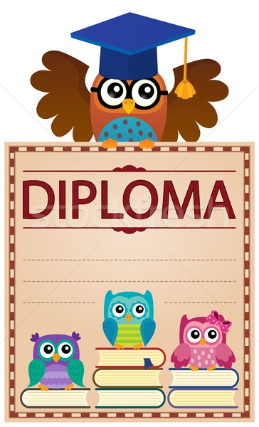 Diploma theme image 4 Stock photo © clairev
