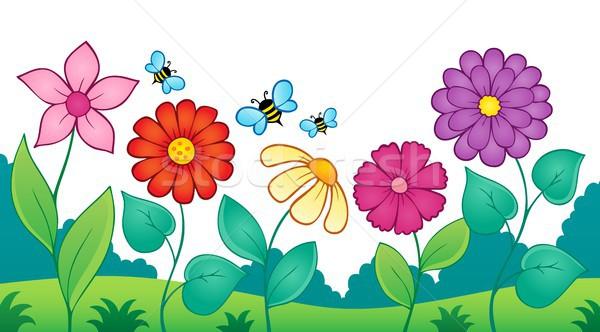 Flor tópico imagem flores beleza verão Foto stock © clairev