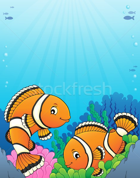Clownfish topic image 5 Stock photo © clairev