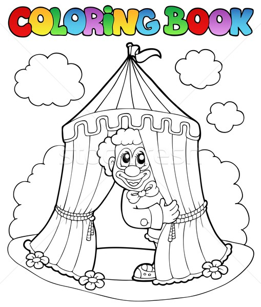 jos circus coloring pages - photo#18