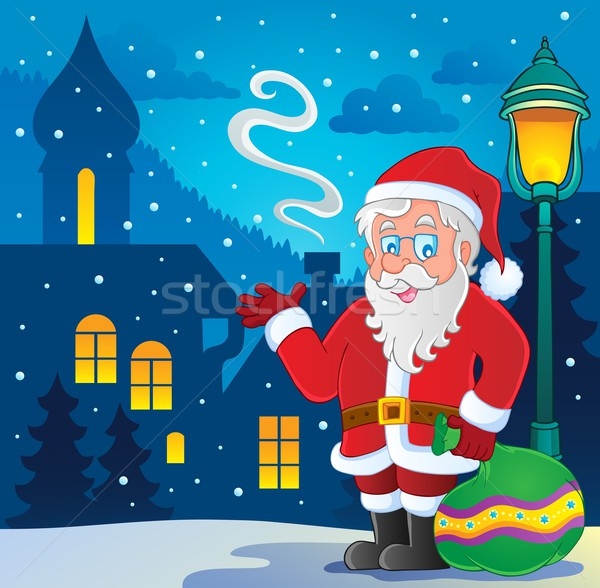 Santa Claus thematic image 7 Stock photo © clairev