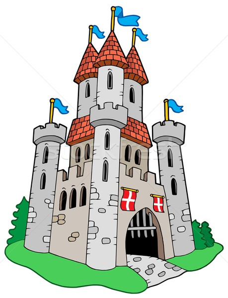 Medieval castle Stock photo © clairev
