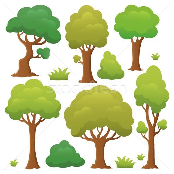 Albero argomento raccolta alberi estate impianto Foto d'archivio © clairev