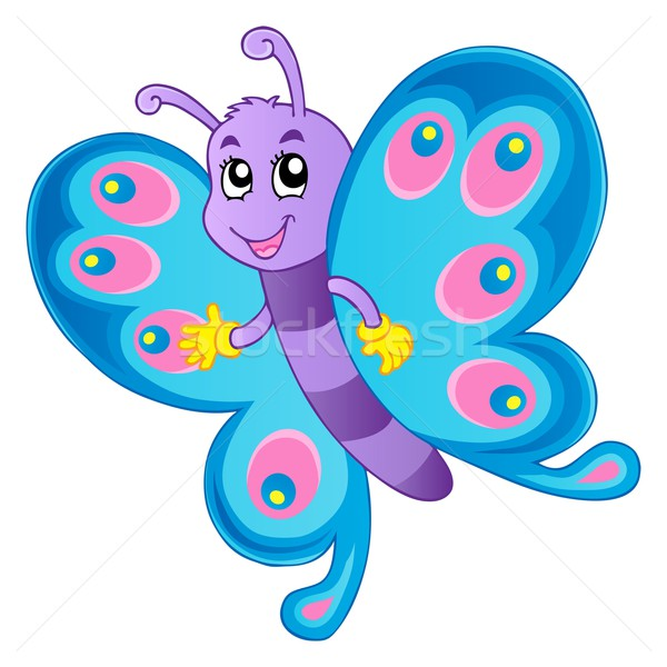 Butterfly theme image 1 Stock photo © clairev