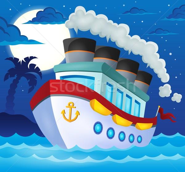 Nautical ship theme image 3 Stock photo © clairev