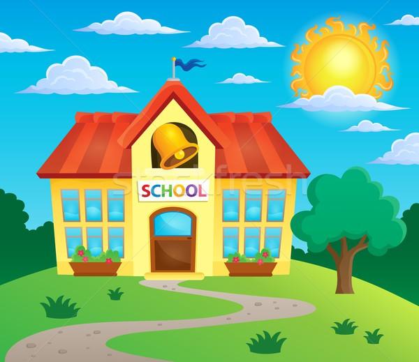 School building theme image 3 Stock photo © clairev