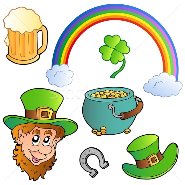 St Patricks day collection 3 Stock photo © clairev