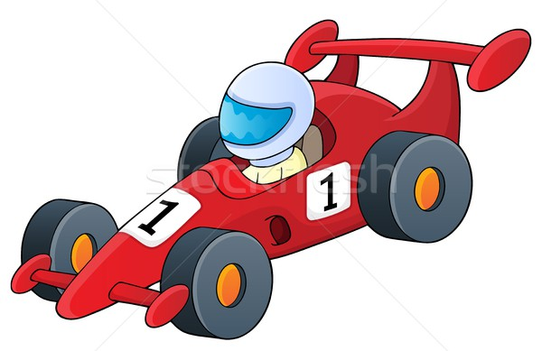 Racing car theme image 1 Stock photo © clairev