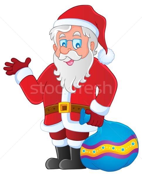 Santa Claus thematic image 3 Stock photo © clairev