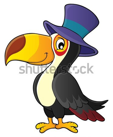 Witch crow theme image 1 Stock photo © clairev