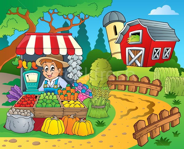 Farmer theme image 8 Stock photo © clairev