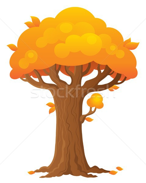 árvore tópico imagem outono planta estilo Foto stock © clairev