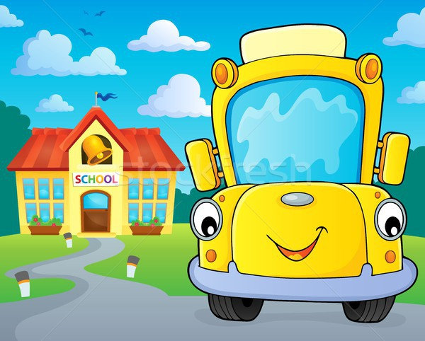 School bus thematics image 5 Stock photo © clairev
