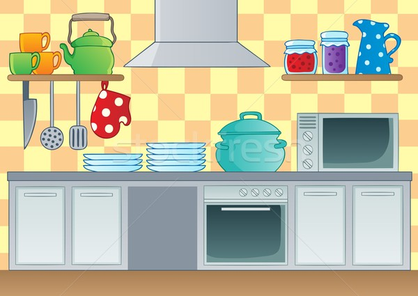 Kitchen theme image 1 Stock photo © clairev