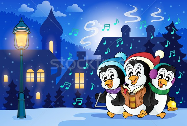 Winter scene with Christmas theme 8 Stock photo © clairev