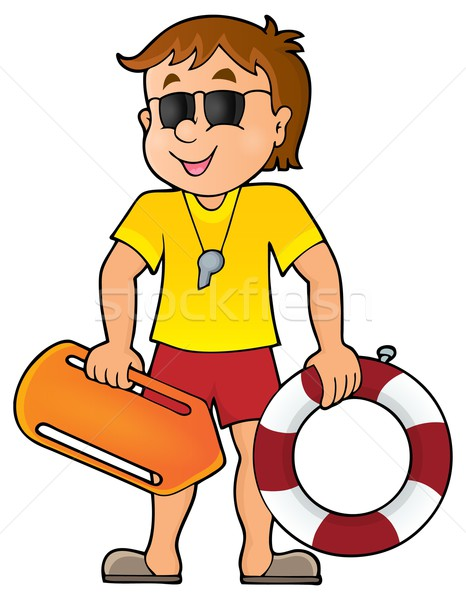 Life guard theme image 1 Stock photo © clairev