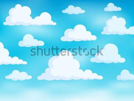 Chmury niebo projektu pogoda jasne naturalnych Zdjęcia stock © clairev