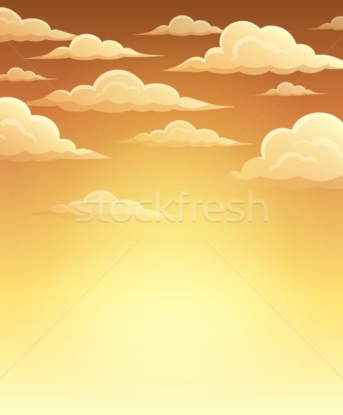 Autumn sky theme background 1 Stock photo © clairev