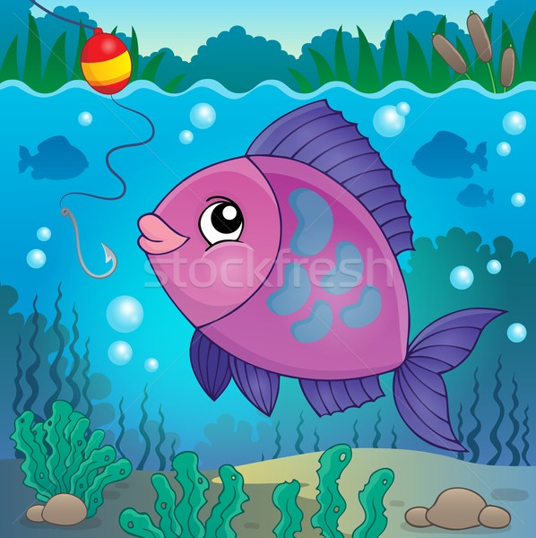 Freshwater fish topic image 6 Stock photo © clairev