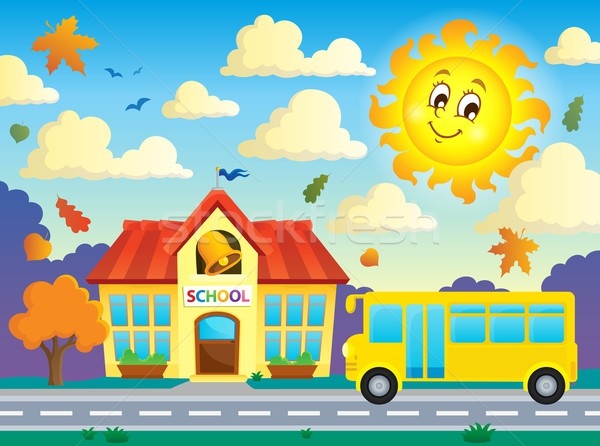 School and bus theme image 3 Stock photo © clairev