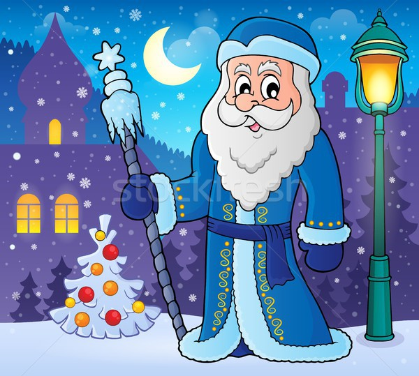 Father Frost theme image 2 Stock photo © clairev
