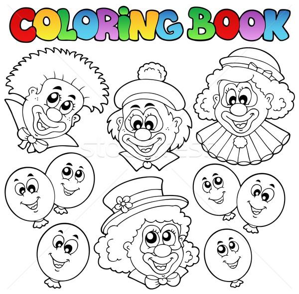 Coloriage Clown Drole.Livre De Coloriage Drole Fete Livre Design