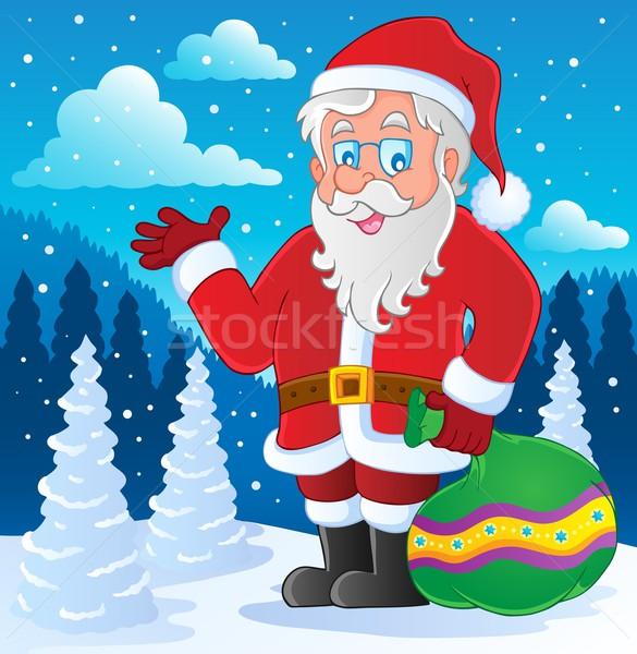Santa Claus thematic image 4 Stock photo © clairev