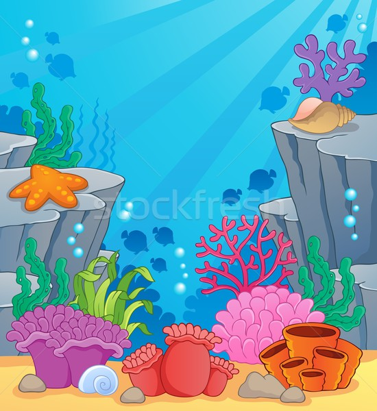 Image with undersea topic 3 Stock photo © clairev